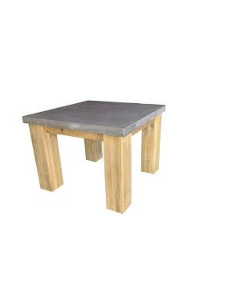 Tafelblad 50 cm breed tot 150 cm lang - Boncreat Beton Ciré - 66 mm