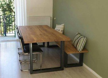 Industriele Tafel Poten : Industriele tafelpoten r de b meubels op maat