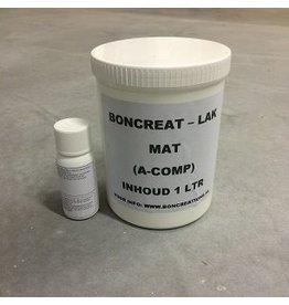 Boncreat Beton Ciré PU Coating 2k MAT- 1 Kilo
