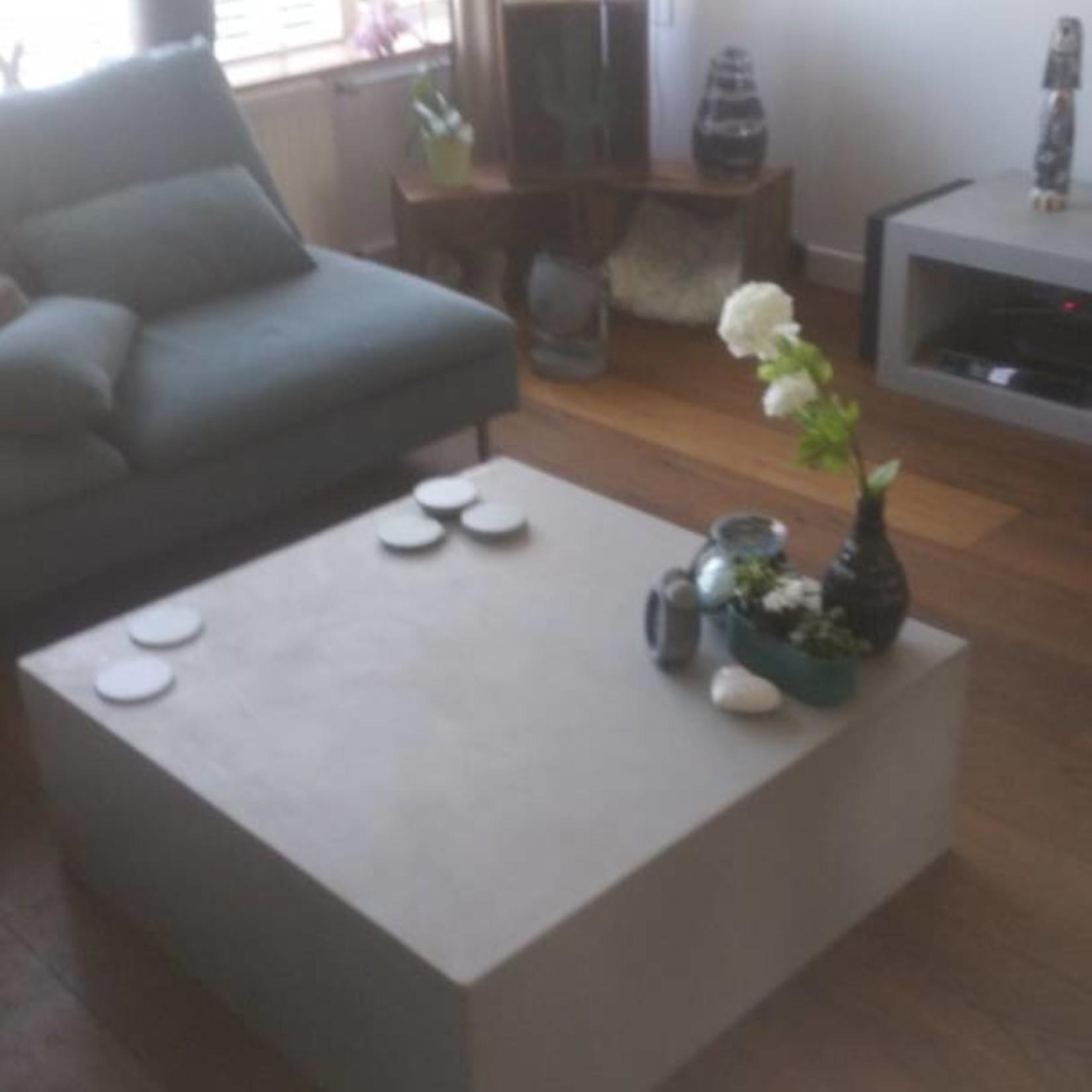 Hocker 60x60/120x35 - Boncreat Beton Ciré