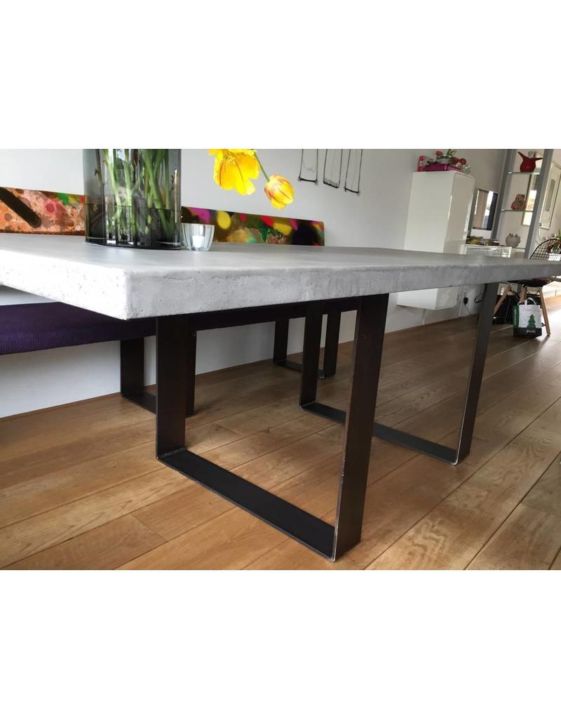 Tafelblad 80x100/300 - Boncreat Beton Ciré - 66 mm