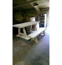 Zitting bankje 40x60/300 - Steigerhout