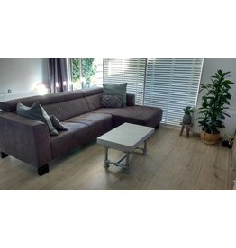 Tafelblad 40 cm breed tot 150 cm lang - Boncreat Beton Ciré - 66 mm