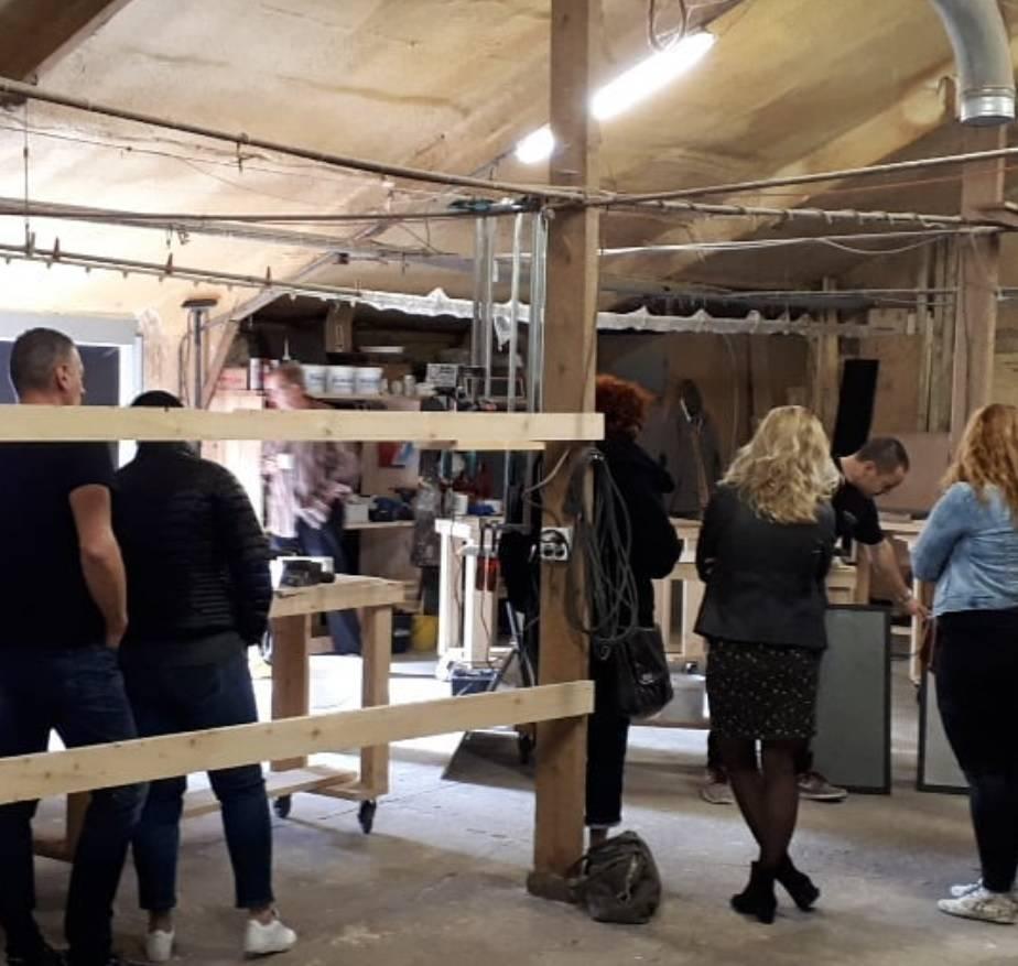 Workshop Beton cire I R De B Meubels Op Maat