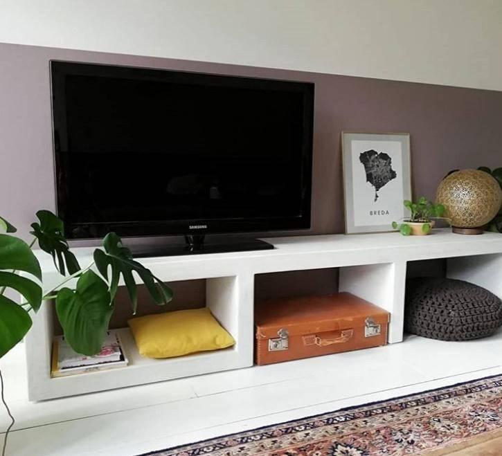 Een tv meubel naar wens