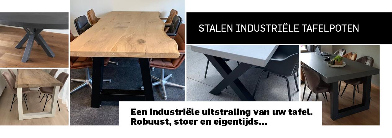 Stalen industriële tafelpoten