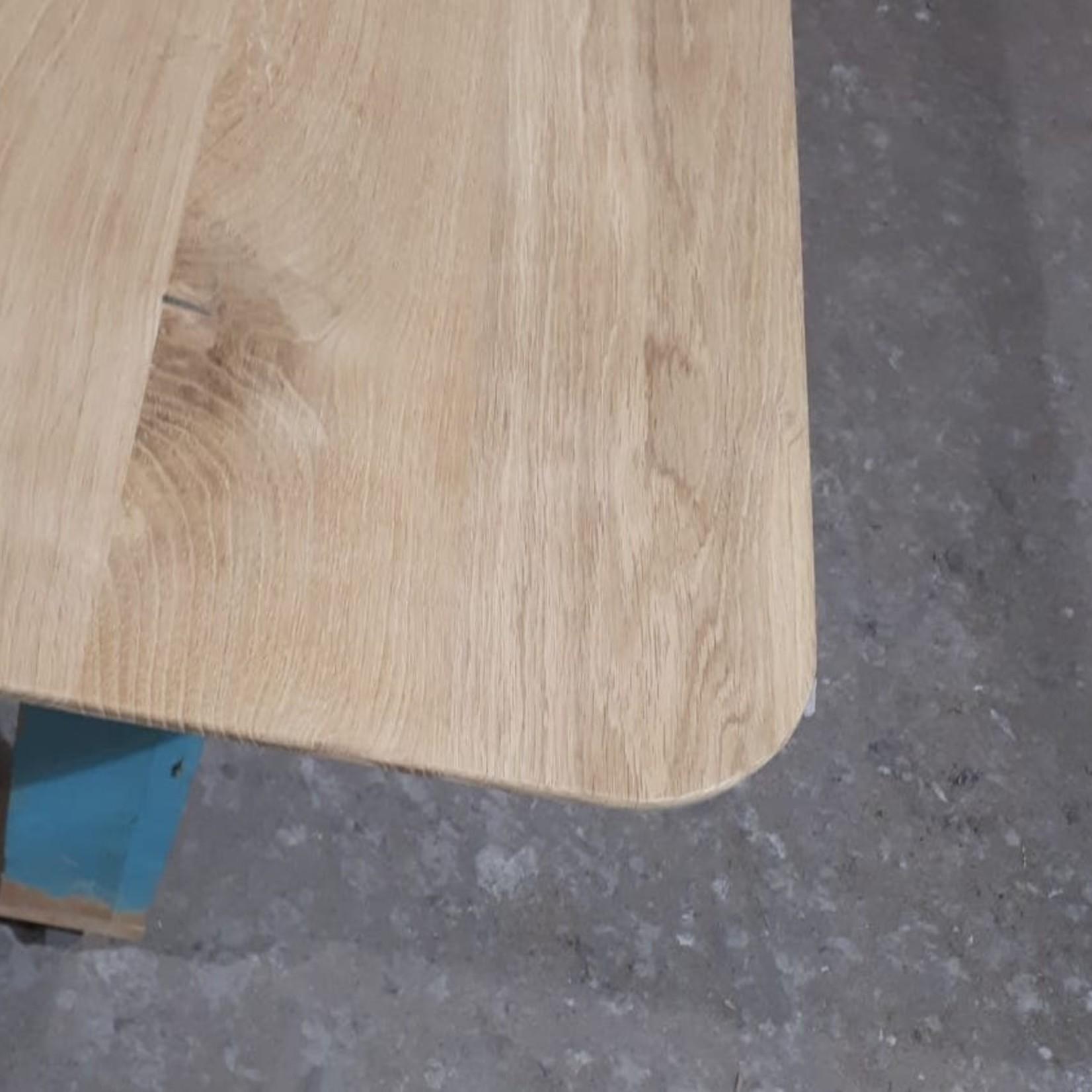 Tafelblad 60 cm breed tot 150 cm lang - ± 40mm - Eiken Massief