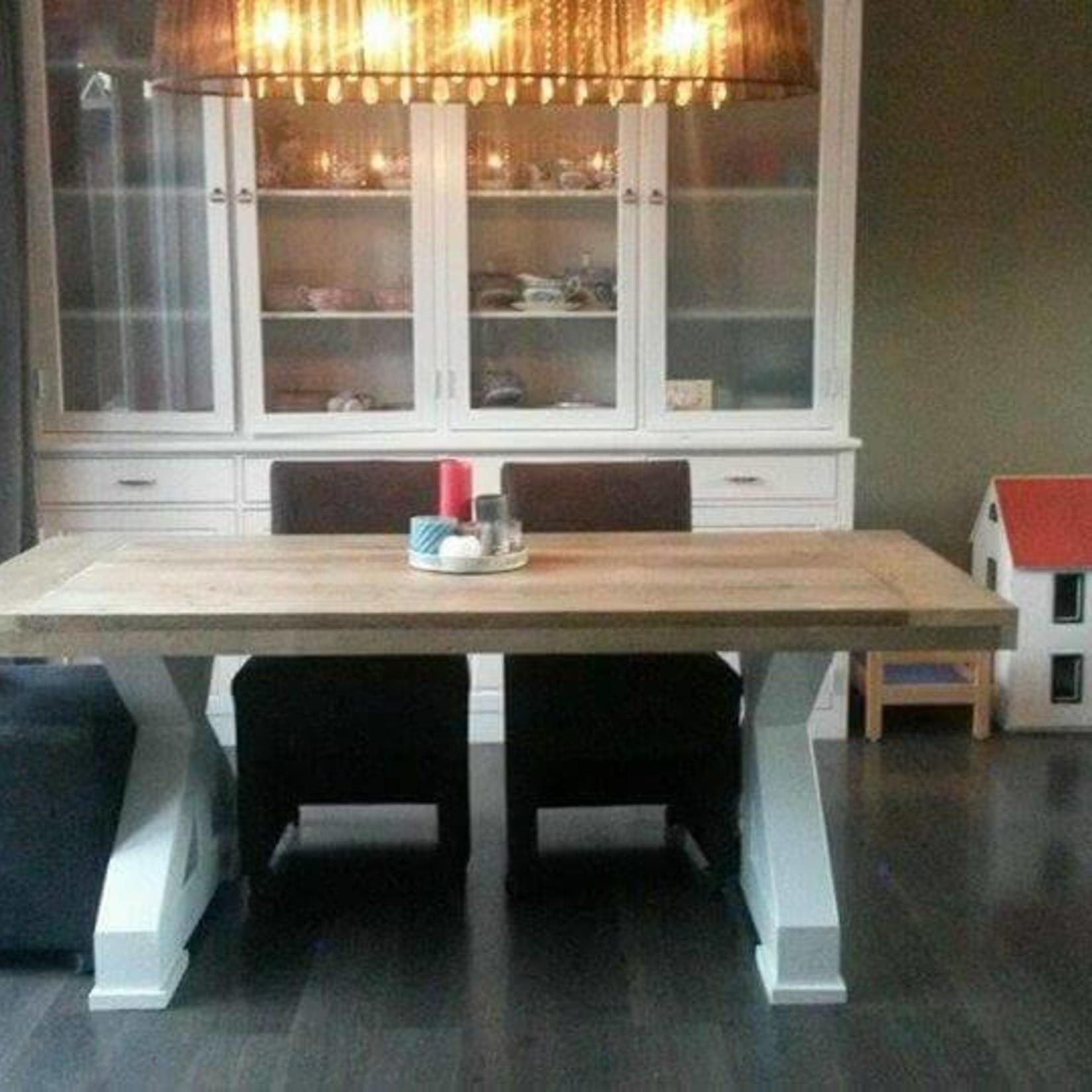 Tafelblad 90 cm breed tot 300 cm lang - Steigerhout