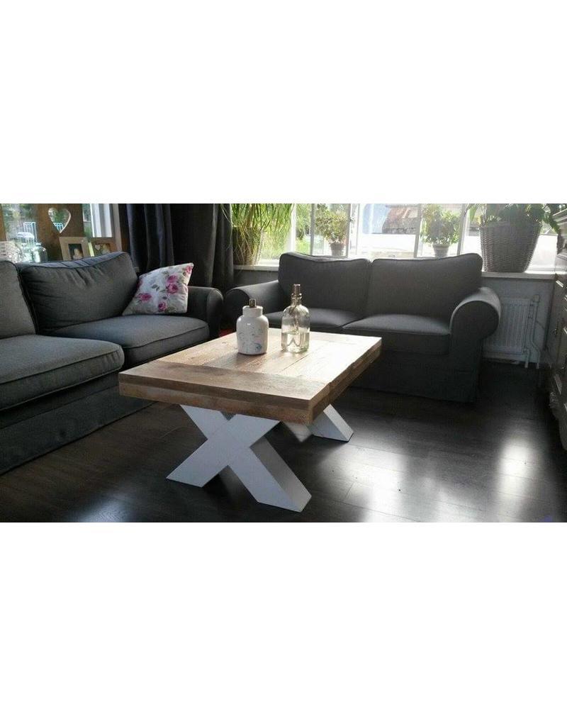 Tafelblad 70 cm breed tot 150 cm lang - Steigerhout