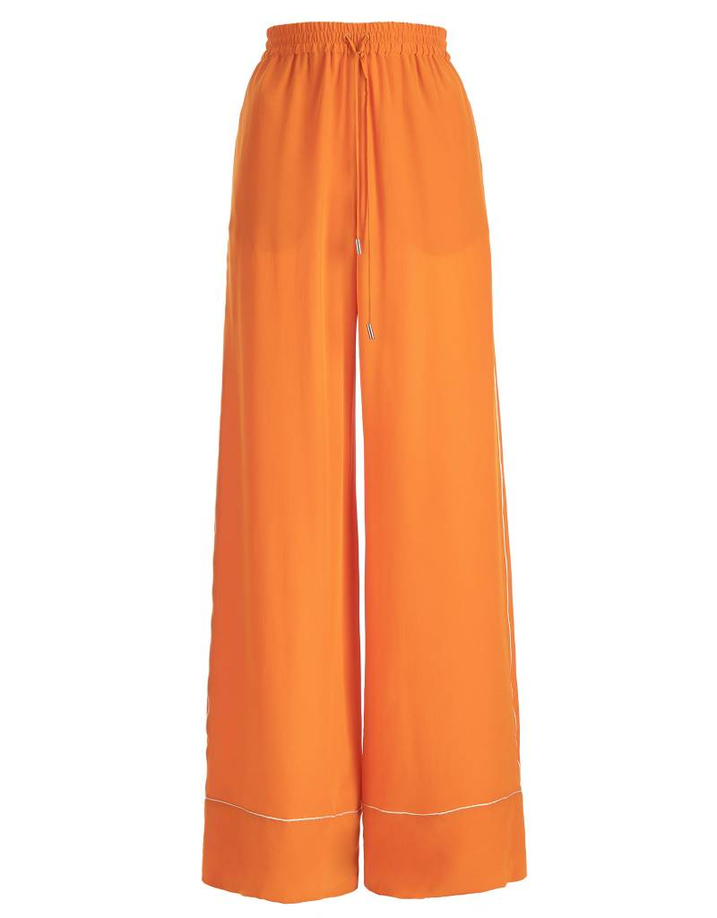 Silk Orange Trousers