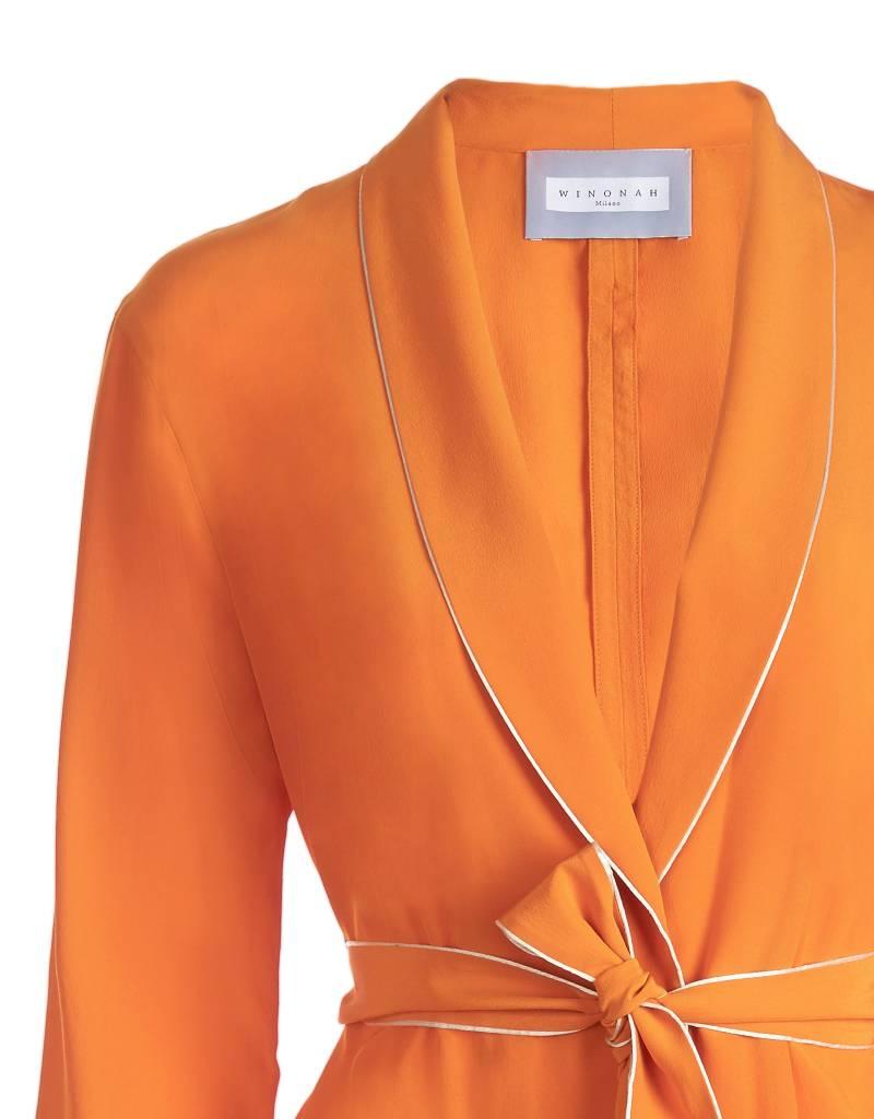 Silk Orange Jacket