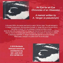 A. Venger An Eye for an Eye - Chronicles of an Obsession