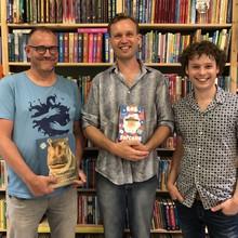 De Grote Vriendelijke Podcast De Grote Vriendelijke Podcast - Martijn van der Linden (m.m.v. Maranke Rinck en Edward van de Vendel) - Aflevering 16