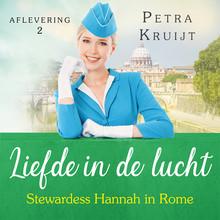 Petra Kruijt Stewardess Hannah in Rome - Liefde in de lucht 2