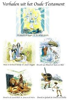 Willem Erné Verhalen uit het Oude Testament - Mozes in het biezen mandje - Jozef in Egypte - David en Goliath - Simson en Delila - De uittocht uit Egypte - De val van Jericho - Daniël in de Leeuwenkuil - Jona en de Walvis - De ark van Noach - Kaïn en Abel