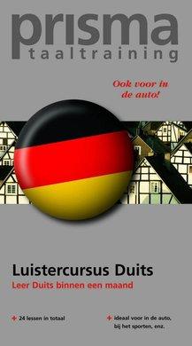 Willy Hemelrijk Luistercursus Duits - Leer Duits binnen een maand (serie: Prisma Taaltraining)