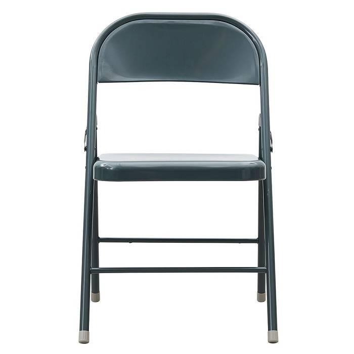Opvouwbare / inklapbare stoel: groen, donker- en lichtgrijs