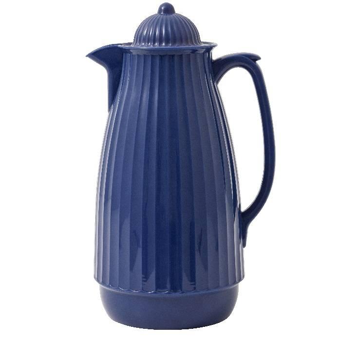 Thermoskan 1 liter / blauw