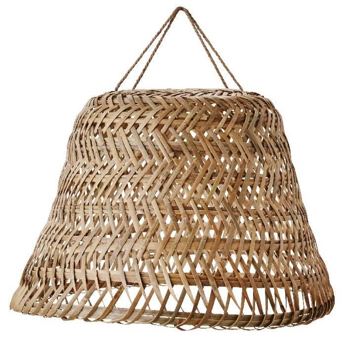 Grote bamboe lampenkap Ø 65 cm