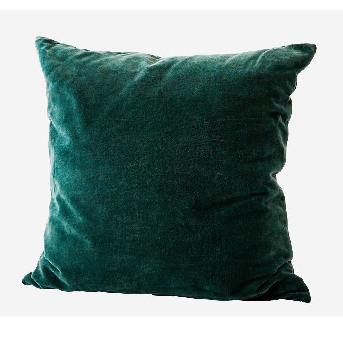 KUSSENHOES VELVET • FOREST GREEN 50x50 ♥-40%