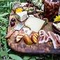 Snijplank / presenteer- serveerplank mangohout: 46 x 28 cm