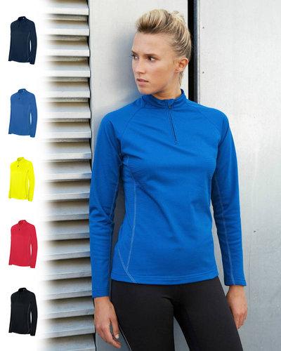 ProAct PA336 Dames Hardloop Sweater met halsrits