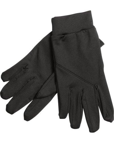 ProAct Zwarte stevige ademende sporthandschoenen