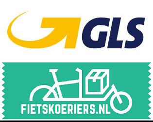 Kies onze betrouwbare partners van GLS of Fietskoeriers.nl
