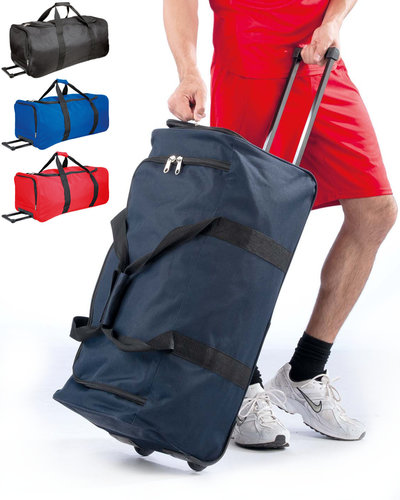 Kimood Sport Trolley met zijvak voor schoenen