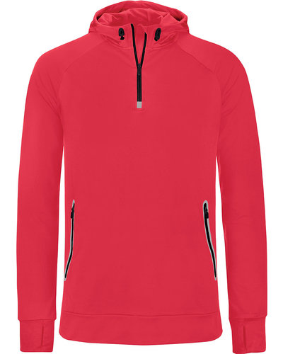 ProAct PA360 Sportsweater met capuchon & halsrits Unisex