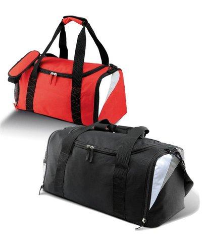 Kimood Sporttas middel in rood, blauw of zwart