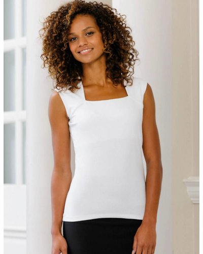 RU990F Dames Sleeveless Stretch Top