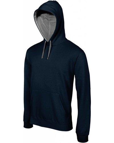 Kariban Sport K446 2 Kleurige Hooded Sweater