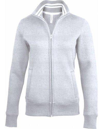 Kariban Sport K457 - Damessweater met rits KARIBAN