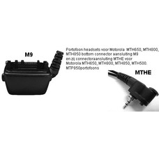 MTH650 tot MTH850 (MTHE / M9 connector)