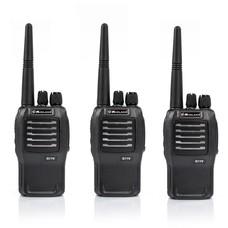 Midland G11V vergunningsvrije portofoon set 3 stuks