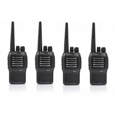 Midland G11V vergunningsvrije PMR446 portofoon set 4 stuks