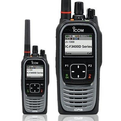 Icom IC-F3400DS Digitale VHF portofoon IDAS / NXDN met display
