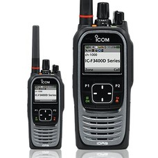 Icom IC-F4400DS Digitale UHF display portofoon