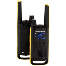 Motorola Talkabout T82 walkie talkie set