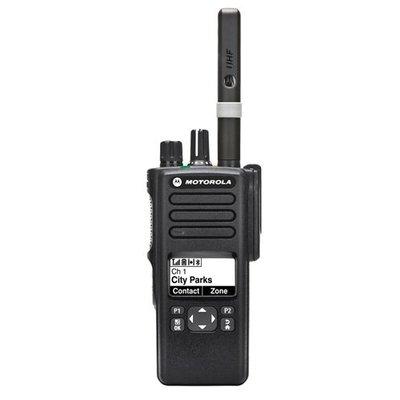 Motorola DP4600E digitale portofoon DMR MOTOTRBO VHF - UHF