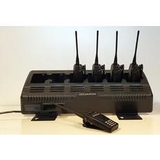 Kenwood 5 x TK-3170 UHF portofoons met multilader (gebruikt)