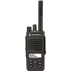 Motorola DP2600E digitale portofoon VHF - UHF