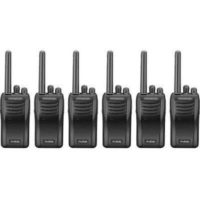 Kenwood TK-3501E protalk portofoonset (6 stuks)