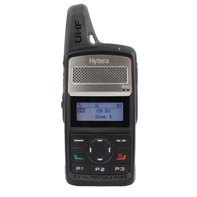 Hytera PD365LF digitale vergunningsvrije portofoon DMR Tier I zakformaat uitvoering