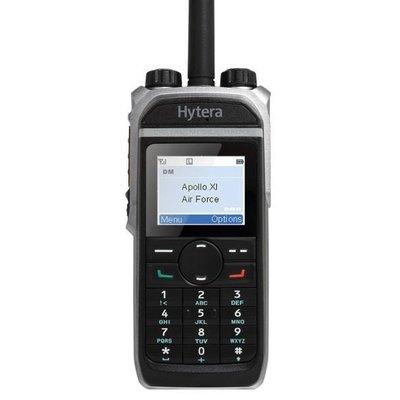 Hytera PD685G digitale portofoon DMR met GPS IP67 VHF - UHF