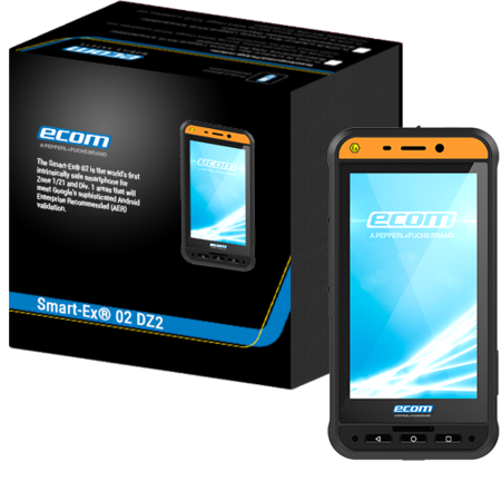 Intrinsiek veilige Smartphone Smart-Ex 02  DZ2 - Zone 2/22 - Ecom