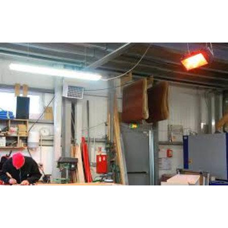 Infraroodstraler Helios Radiant ATEX 1500W - Zone 2/22 - Star Progetti