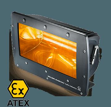 ATEX infrarood verwarming