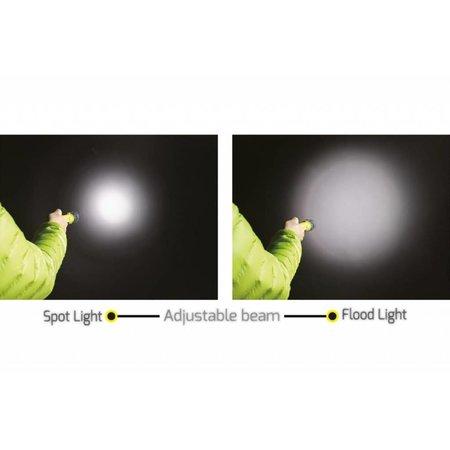 ATEX zaklamp Safatex  Zoom - Zone 0 | NightSearcher